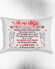 I Love You Find Words To Tell Family Rectangular Pillowcase aos-pillow-rectangle-front-lifestyle-4