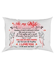 I Love You Find Words To Tell Family Rectangular Pillowcase front