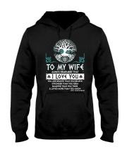Viking I Love You Wife Hooded Sweatshirt thumbnail