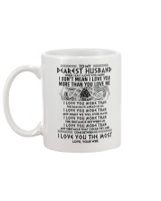 Viking Husband I Love You More Mug back