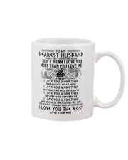 Viking Husband I Love You More Mug front