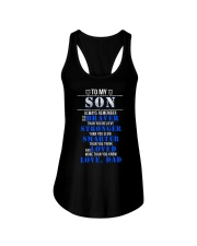 TO MY SON POLICE MUG Ladies Flowy Tank tile