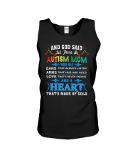 heart made of gold autism mom Unisex Tank thumbnail
