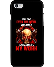 FIREFIGHTER IS MY WORK SHIRT Phone Case thumbnail