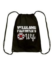 WILDLAND FIREFIGHTER WIFE  Drawstring Bag thumbnail
