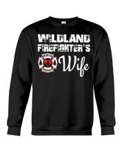 WILDLAND FIREFIGHTER WIFE  Crewneck Sweatshirt thumbnail