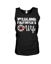 WILDLAND FIREFIGHTER WIFE  Unisex Tank thumbnail