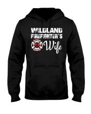 WILDLAND FIREFIGHTER WIFE  Hooded Sweatshirt thumbnail