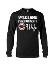 WILDLAND FIREFIGHTER WIFE  Long Sleeve Tee thumbnail