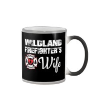 WILDLAND FIREFIGHTER WIFE  Color Changing Mug thumbnail