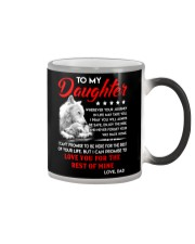 Wolf Daughter Dad Love you for the rest of mine Color Changing Mug thumbnail