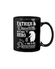 Father And Daughter He her hero she his princess Mug thumbnail
