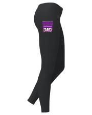 I wear Purple For My Dad Alzheimer awareness Ladies Leggings thumbnail