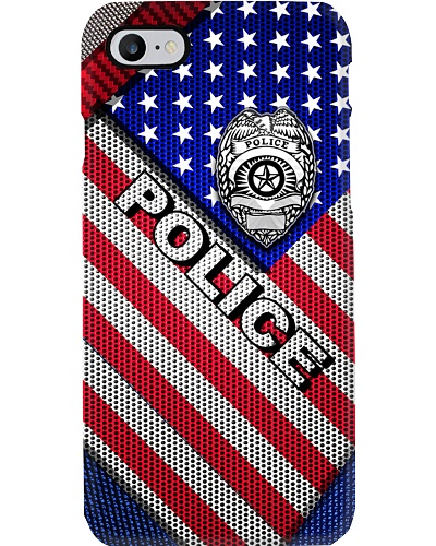 POLICE FLAG PHONECASE