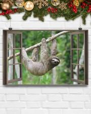 Sloth 17x11 Poster aos-poster-landscape-17x11-lifestyle-28