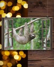 Sloth 17x11 Poster aos-poster-landscape-17x11-lifestyle-29