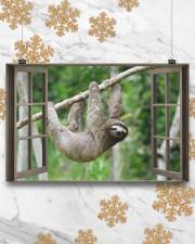 Sloth 17x11 Poster aos-poster-landscape-17x11-lifestyle-30