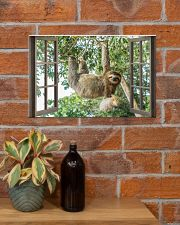 Sloth 17x11 Poster poster-landscape-17x11-lifestyle-23