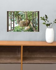 Sloth 17x11 Poster poster-landscape-17x11-lifestyle-24