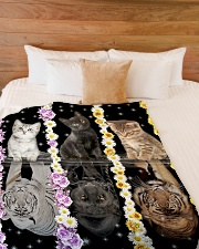 """LIMITED EDITION Large Fleece Blanket - 60"""" x 80"""" aos-coral-fleece-blanket-60x80-lifestyle-front-02"""