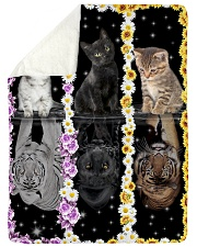 """LIMITED EDITION Large Sherpa Fleece Blanket - 60"""" x 80"""" thumbnail"""