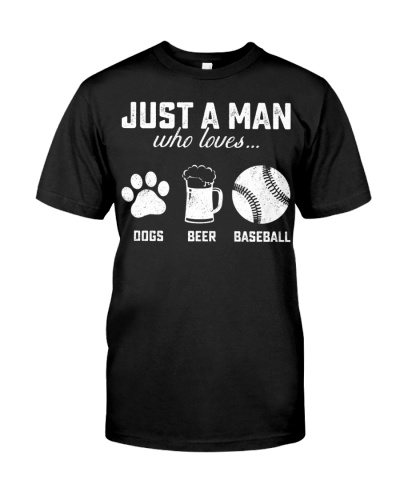 dogs beer  baseball