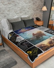 """LIMITED EDITION Large Sherpa Fleece Blanket - 60"""" x 80"""" aos-sherpa-fleece-blanket-lifestyle-front-04"""