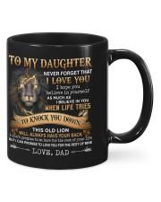To my Daughter - Dad Mug front