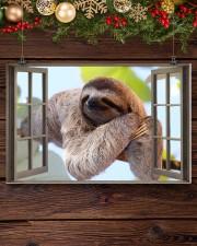 Sloth 17x11 Poster aos-poster-landscape-17x11-lifestyle-27