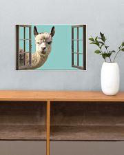 Llama 17x11 Poster poster-landscape-17x11-lifestyle-24