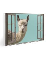 Llama 30x20 Gallery Wrapped Canvas Prints thumbnail