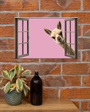 Llama 17x11 Poster poster-landscape-17x11-lifestyle-23