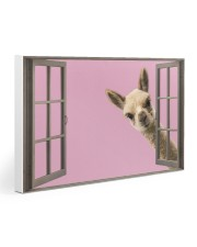 Llama 30x20 Gallery Wrapped Canvas Prints thumbnail