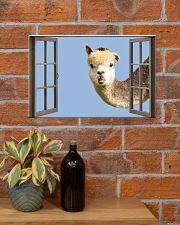 Llama 17x11 Poster poster-landscape-17x11-lifestyle-23