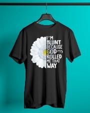 blunt daisy Classic T-Shirt lifestyle-mens-crewneck-front-3