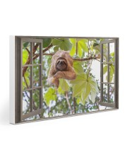 Sloth Gallery Wrapped Canvas Prints tile