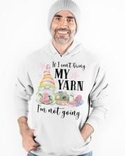 Yarn not going Hooded Sweatshirt apparel-hooded-sweatshirt-lifestyle-front-82
