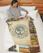 "LIMITED EDITION Large Sherpa Fleece Blanket - 60"" x 80"" aos-sherpa-fleece-blanket-60x80-lifestyle-front-06"
