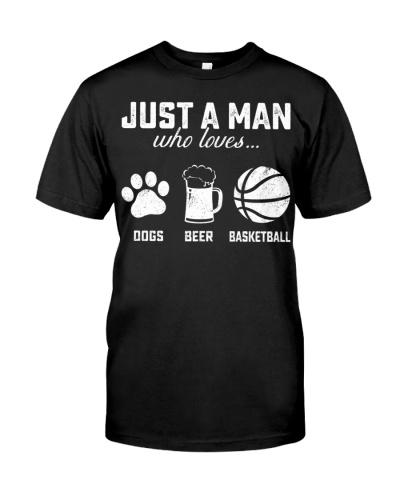 dogs beer  basketball