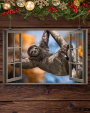Sloth 17x11 Poster aos-poster-landscape-17x11-lifestyle-27