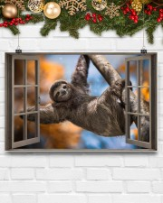 Sloth 17x11 Poster aos-poster-landscape-17x11-lifestyle-28