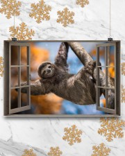 Sloth 17x11 Poster aos-poster-landscape-17x11-lifestyle-30