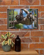 Sloth 17x11 Poster poster-landscape-17x11-lifestyle-23