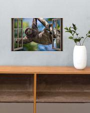 Sloth 17x11 Poster poster-landscape-17x11-lifestyle-24