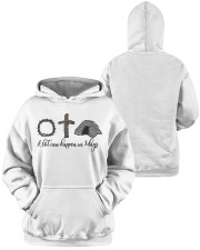 3 days Hooded Sweatshirt apparel-hooded-sweatshirt-lifestyle-front-43