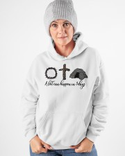 3 days Hooded Sweatshirt apparel-hooded-sweatshirt-lifestyle-front-83