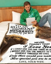 """LIMITED EDITION Large Fleece Blanket - 60"""" x 80"""" aos-coral-fleece-blanket-60x80-lifestyle-front-06"""
