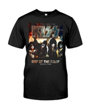 End asia of the Road america World Tour 2019 Kiss Classic T-Shirt front