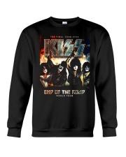 End asia of the Road america World Tour 2019 Kiss Crewneck Sweatshirt thumbnail