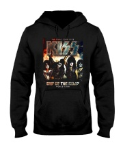 End asia of the Road america World Tour 2019 Kiss Hooded Sweatshirt thumbnail